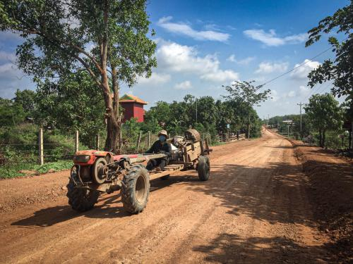Phnom to Siem reap by cycling 5 days 4 nights